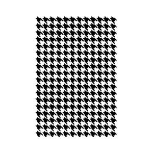 Stencil G Cm.21X29,7  Texture Pied Poule