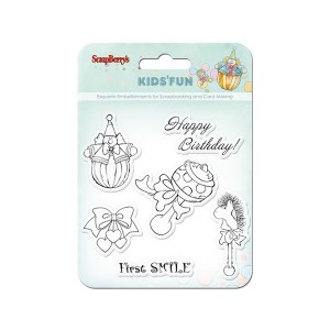 Set Of Stamps 10,5*10,5Cm Kids'Fun Scb4901012B