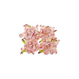 Gardenia 7Cm 4 Pcs In A Pack Pink&White