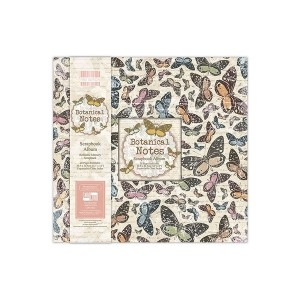 Альбом для скрапбукинга 30х30см   Botanical Notes