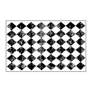 Acrylic Stamp Cm. 7X11 Rhombus