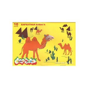 Ббкм10-1 - Бумага Бархатная 175Х250, 10 Цветов