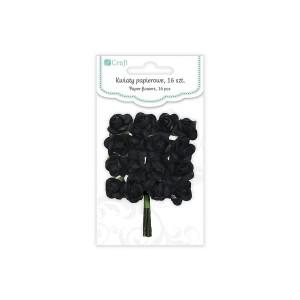Бумажные Цветы 2См,16 Шт Розы -Onyx