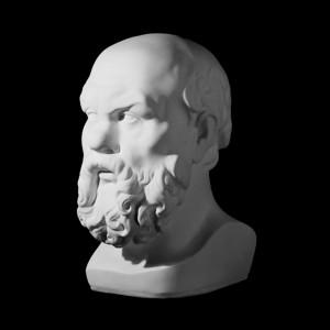 Гипсовая Модель Голова Сократа