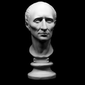 Гипсовая Модель Голова Цезаря