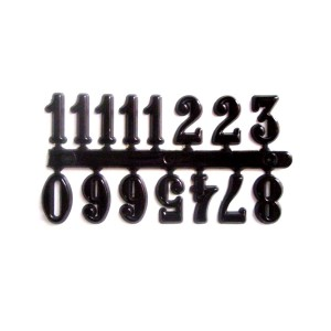 Заготовки: Арабские Цифры .Черные