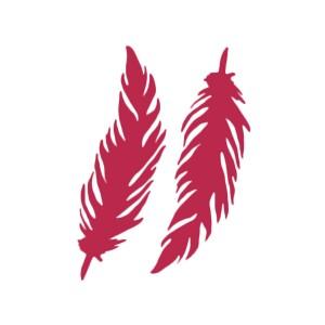 Шаблон 20X25См/0,2Mm Feathers