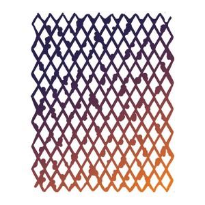 Шаблон 20X25См/0,2Mmrombous Texture