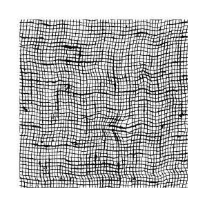 Штамп Резиновый Stamperia  10X10 См - Net Effect