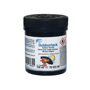 Outdoor Varnish Transparent, Shiny 100Ml