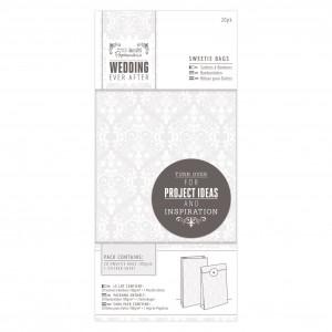 Подарочные пакетики ,20шт- Wedding