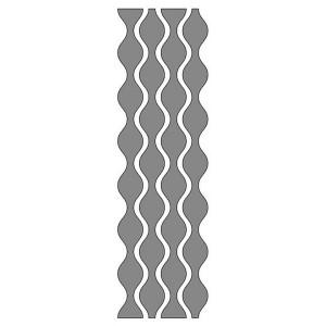 Самоклеющийся Трафарет, 13 X 40 Cm