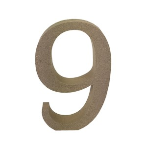 Mdf Number Blank  9