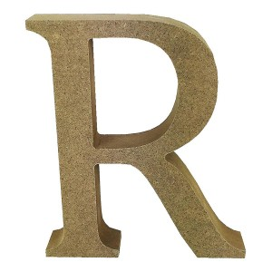 Mdf Letter Blank  R