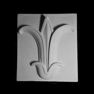Гипсовая Модель Орнамент, Цветок Лотоса