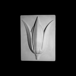 Гипсовая Модель Орнамент, Тюльпан