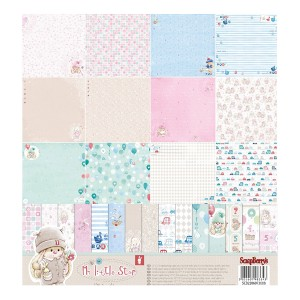 Paper Collection Set My Little Star (12*12–190GSM)