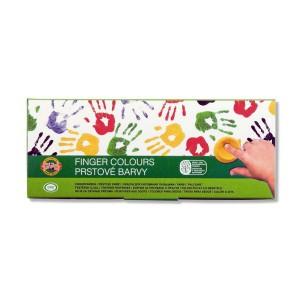 Комплект Пальчиковых Красок 10Шт Koh-I-Noor
