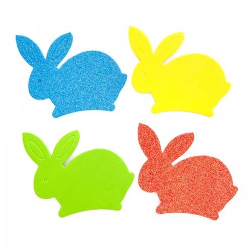 Наклейки Из Пенки - Кролик, 8 Шт