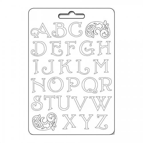 Формы из пластика- Alphabet initials