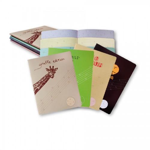 Тетрадь с цветными страницами,32л,(80г)