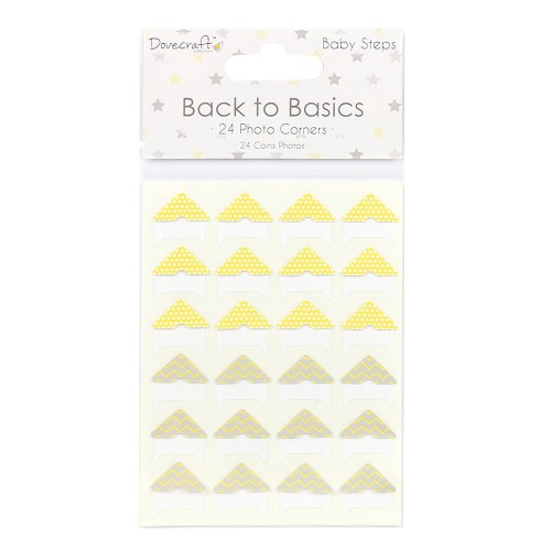 Dovecraft Back to Basics Baby Steps Photo Corners