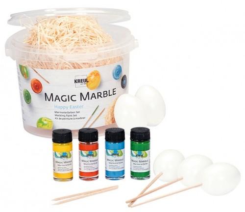"""Magic Marble""""Happy Easter"""" .Kreul"""