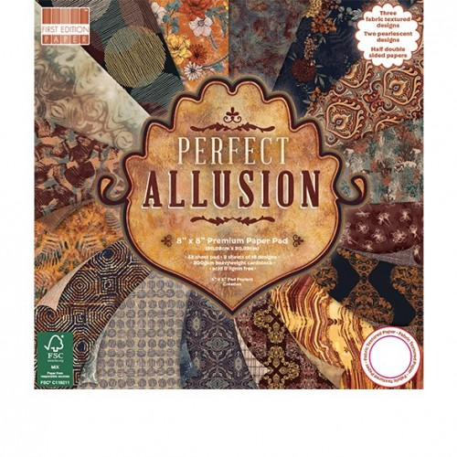First Edition FSC 8 x 8 Perfect Allusion Paper Pad