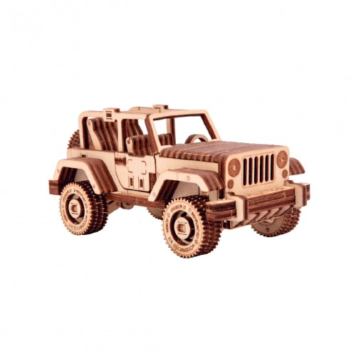 "Souvenir and collectible model ""Safari car 4x4"""