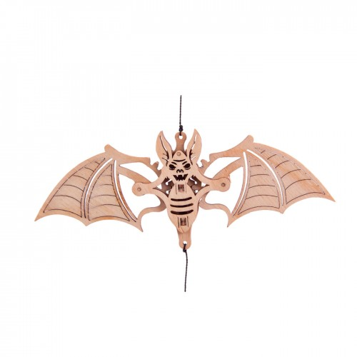 "Souvenir and collectible model Woodik ""Bat"""
