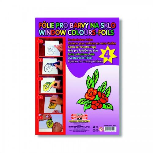 Пленка Для Красок По Стеклу  Koh-I-Noor