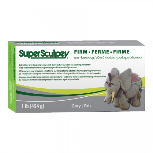 Глина Полимерная Super Sculpey Firm 454Gr