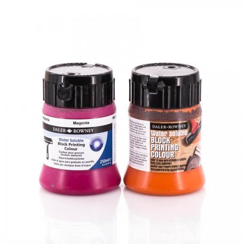 Краски для высокой печати 250 мл Daler-Rowney