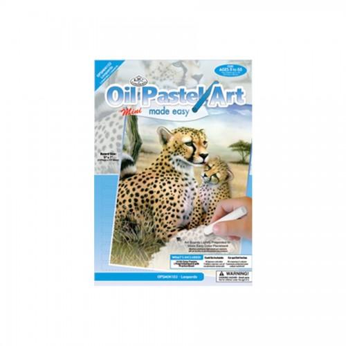 Набор Для Рисования Леопард