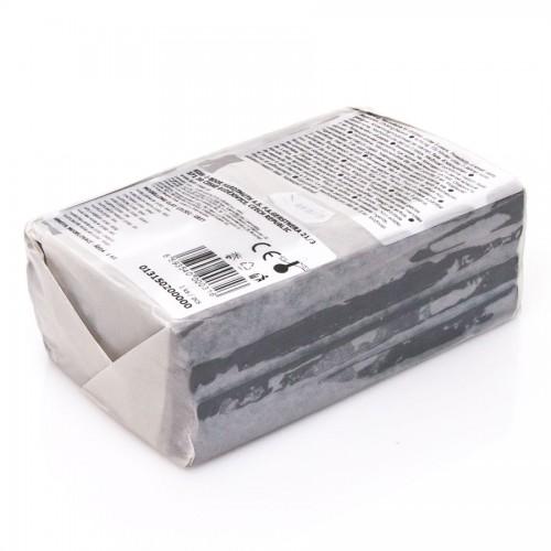 Пластилин Для Моделирования, Школьный 1Кг, Серый