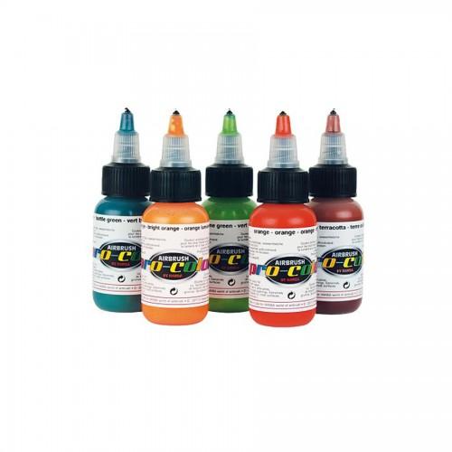 Краски для аэрографа 32 мл, PRO-COLOR