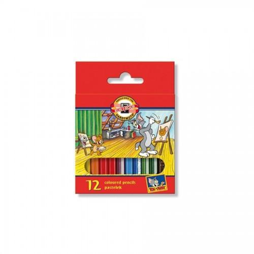 """Комплект цветных карандашей 12шт """"Tom&Jerry""""3622"""