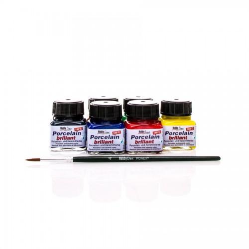 Набор Порцелановых Красок 6-20Мл , C.Kreul