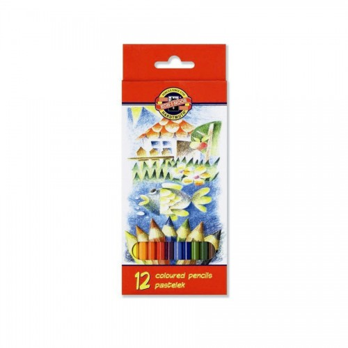 Комплект цветных карандашей 12шт  3582