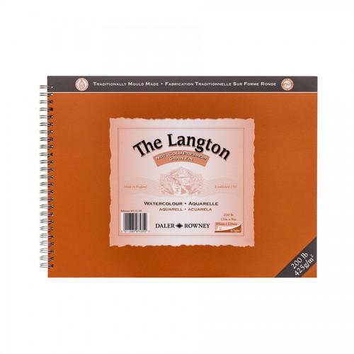 Аква-Ный Блок Langton 425G 30.5X22.8, Daler-Rowney