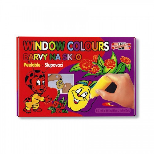 Набор Красок По Стеклу  Koh-I-Noor10X60Ml