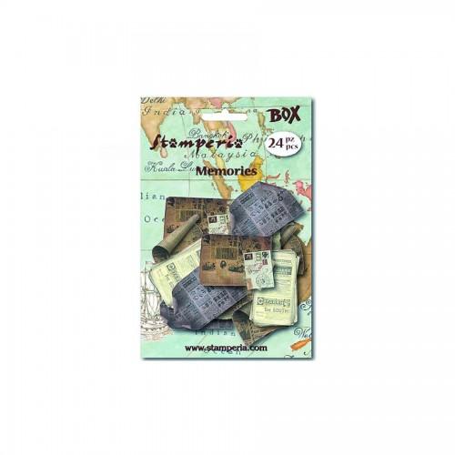 Винтажные Бумажки Stamperia