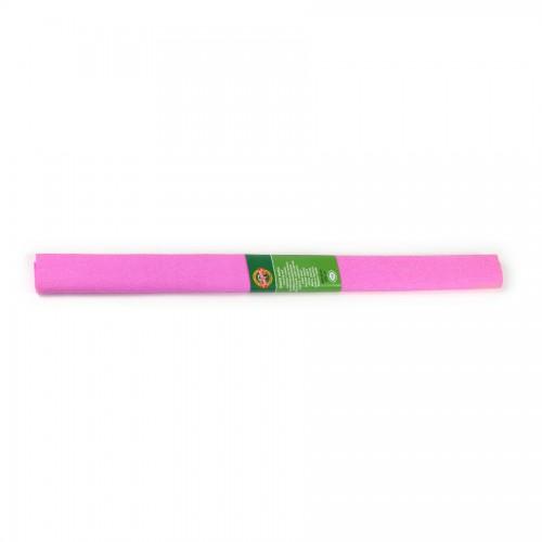 Креповая Бумага 2000Х500 Мм Розовая