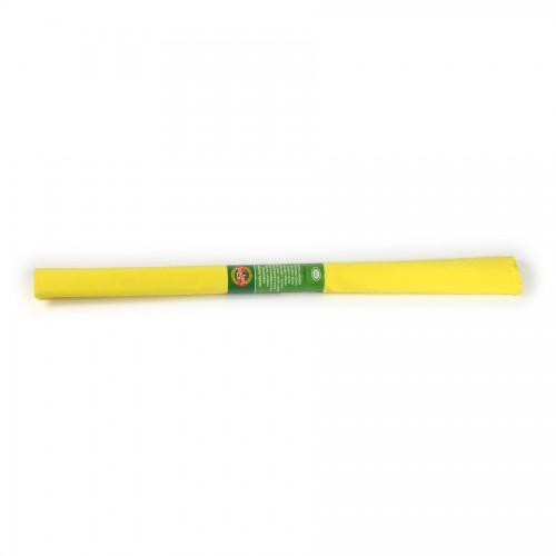 Креповая Бумага 2000Х500 Мм Желтая Средняя