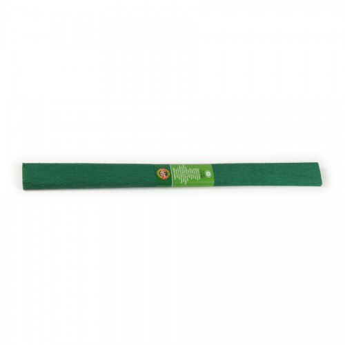 Креповая Бумага 2000Х500 Мм ,Зеленая Темная