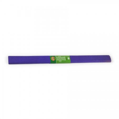 Креповая Бумага 2000Х500 Мм ,Фиолетовая Темная