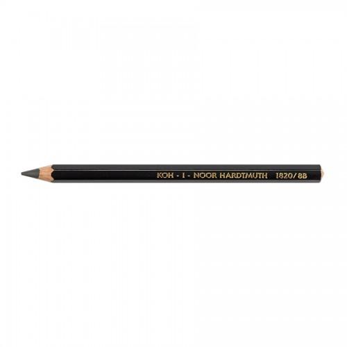 Толстый чернографитный карандаш 1820 8B
