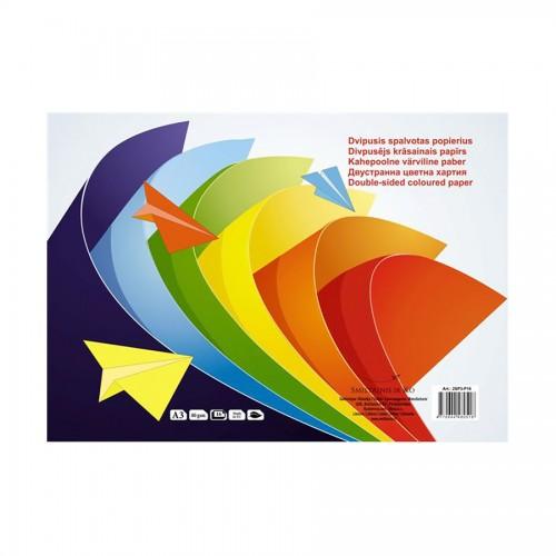 Двусторонняя Цветная Бумага