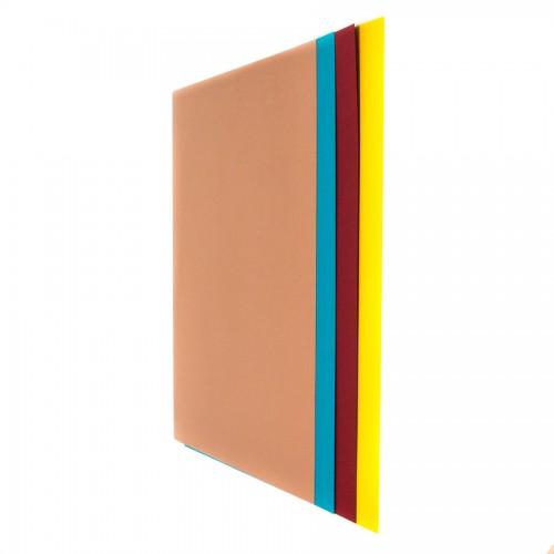 Цветная Бумага В Блоках, 25X35 См, 50 Л