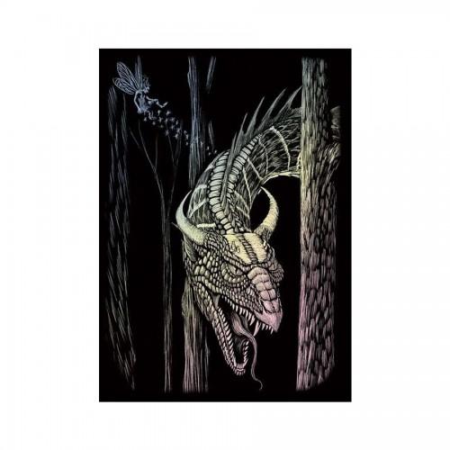 Гравюра Дракон